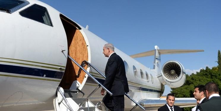 نتانیاهو سفرش به امارات را به ۳ ساعت کاهش داد