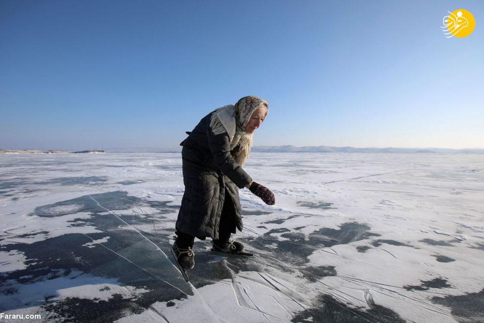 زندگی پیرزن تنها در سرمای منفی ۴۰ درجه سیبری