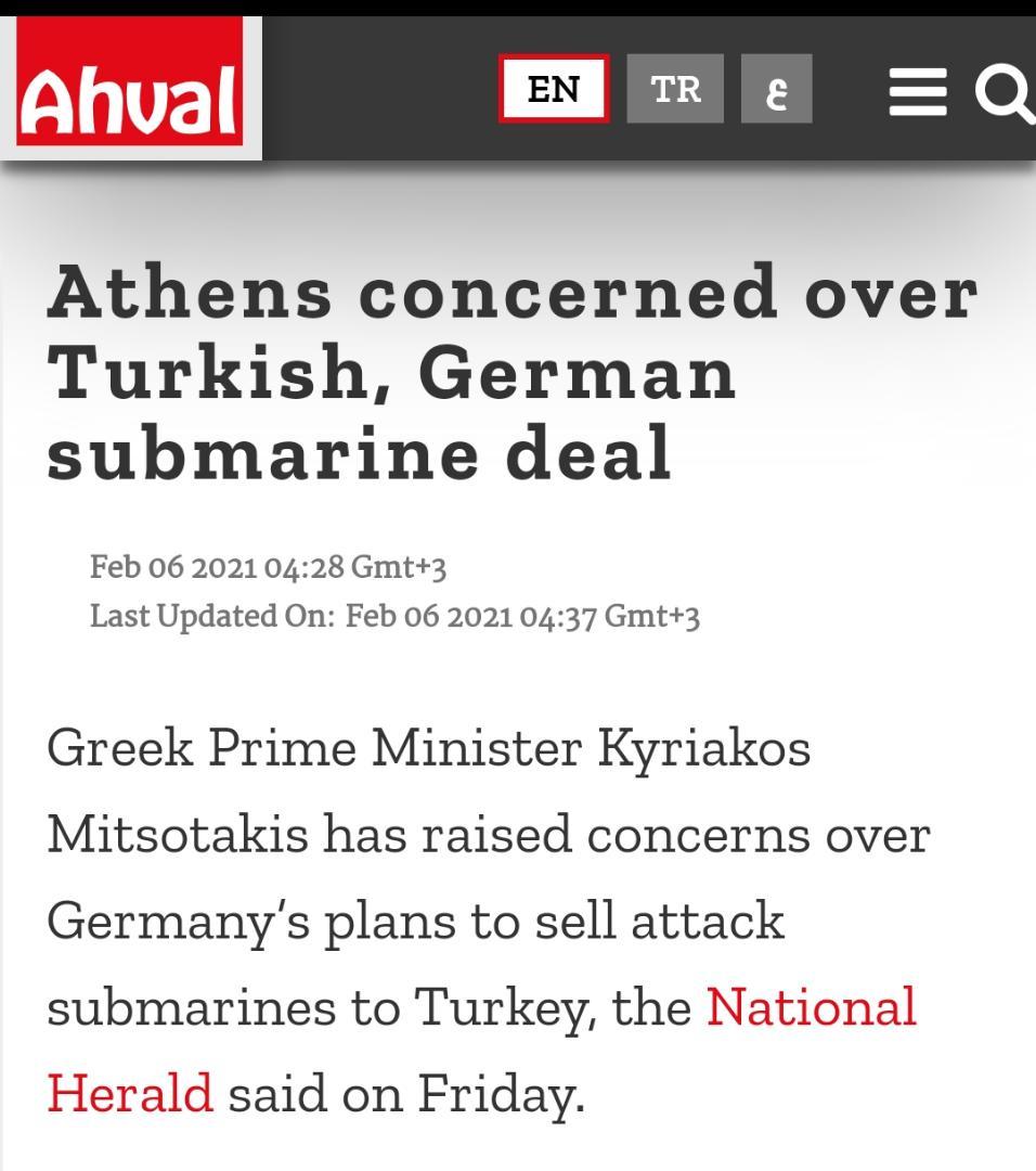 هشدار اروپا درباره جنگ سرد برای تامین واکسن کرونا| جاسوسی امارات از قطر با کمک آژانس امنیت ملی آمریکا| فرود هواپیمای اسرائیلی به ترکیه پس از 10 سال| اعلام نگرانی یونان از تجهیز ترکیه به زیردریاییهای ساخت آلمان