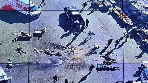 لحظات انفجار انتحاری در بغداد