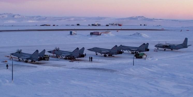 آمادهباش جنگندههای «میگ-31 روسیه» در قطب شمال