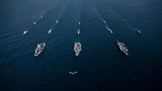 آمریکا ناوهای هواپیمابر را به دریای چین فرستاد