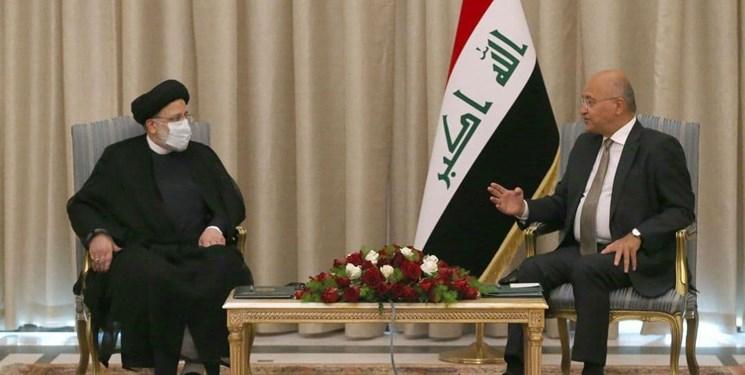 دیدار رئیس قوه قضاییه با رئیس جمهور عراق