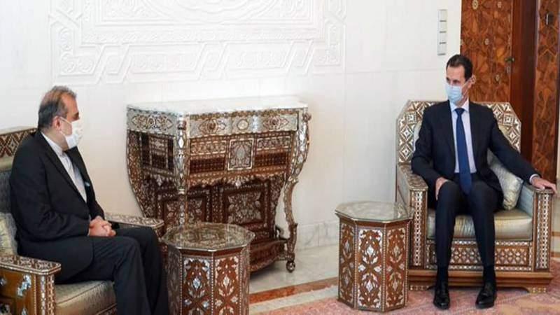 الرئيس الأسد يستقبل خاجي وتأكيد على ضرورة استمرار عمل لجنة مناقشة الدستور دون تدخلات خارجية
