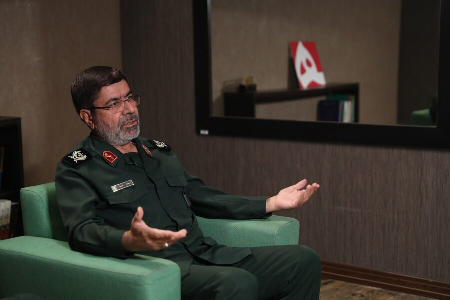 خاطره انتخاباتی سخنگوی سپاه از سردار سلیمانی
