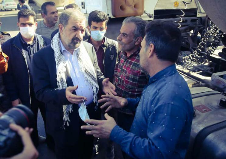 محسن رضایی در حادثه تایباد آسیب ندیده است