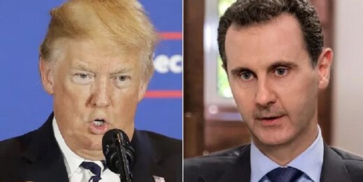 افشای طرح ترور بشار اسد از سوی ترامپ