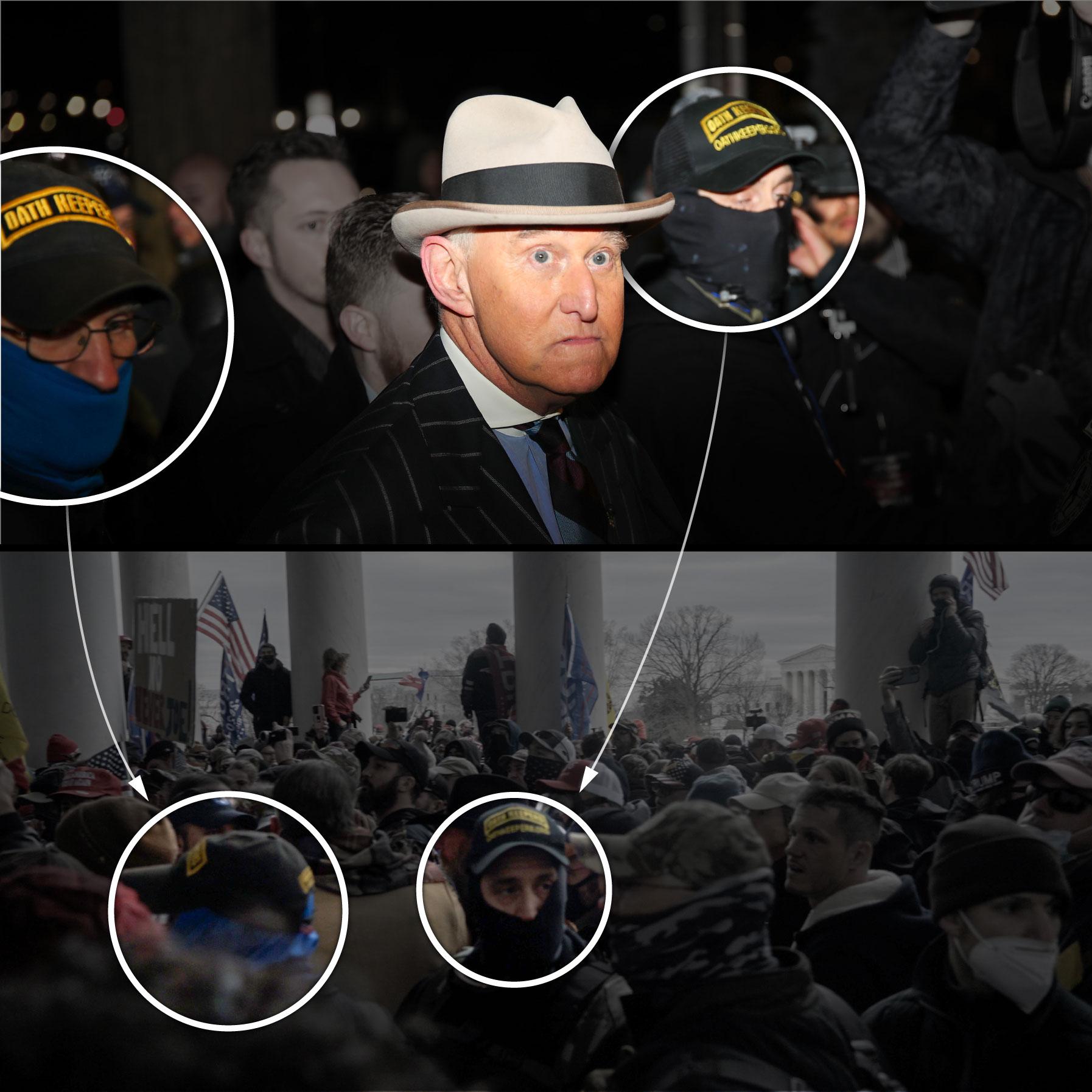 شرکت محافظان مشاور پیشین ترامپ در حمله به کنگره