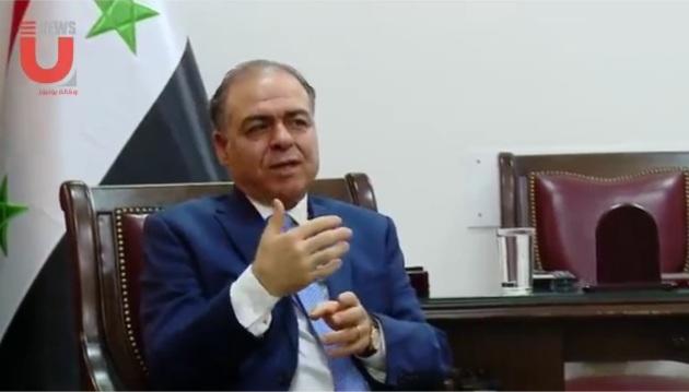 أمين سر اللجنة المركزية لحزب البعث العربي الاشتراكي يستقبل وفدا أكاديميا ايرانيا