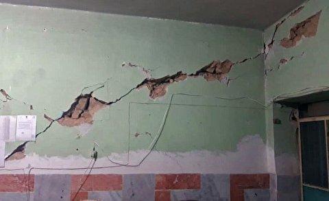 تخریبها در سی سخت پس از زلزله 5.6 ریشتری