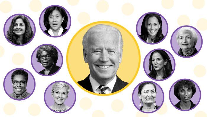 کابینه بایدن، رکورددار وزرای زن در آمریکا