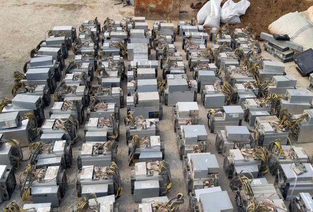 کشف هزاران دستگاه ماینر در تهران