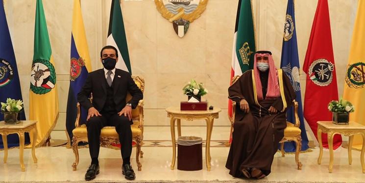دیدار رئیس پارلمان عراق با امیر و ولیعهد کویت