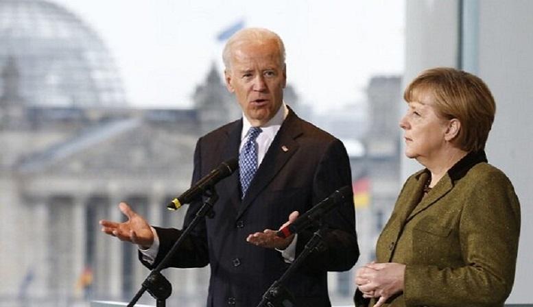 بایدن و مرکل درباره ایران گفتگو کردند