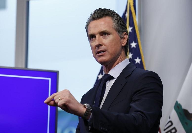جمعآوری ۱.۲ میلیون امضا برای برکناری فرماندار کالیفرنیا