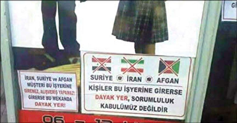 بنر توهین آمیز در ترکیه خشم ایرانیها را برانگیخت