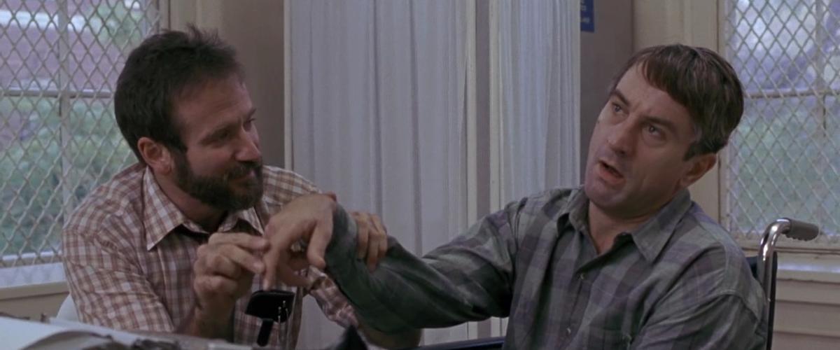 نقش آفرینی متفاوت رابرت دنیرو و رابین ویلیام در «بیداریها»
