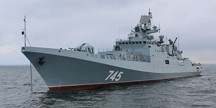 ورود یک ناو نیروی دریایی روسیه به بندر بور سودان