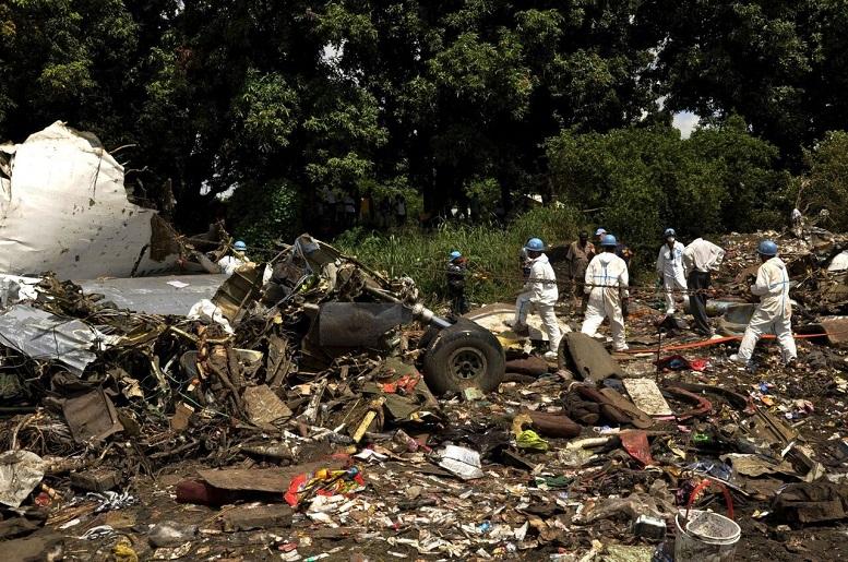 سقوط هواپیمای سودانی با ۱۰ کشته