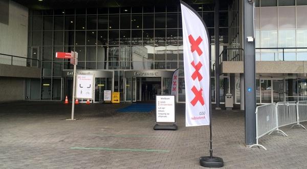 انفجار در مرکز تست کرونا در آمستردام