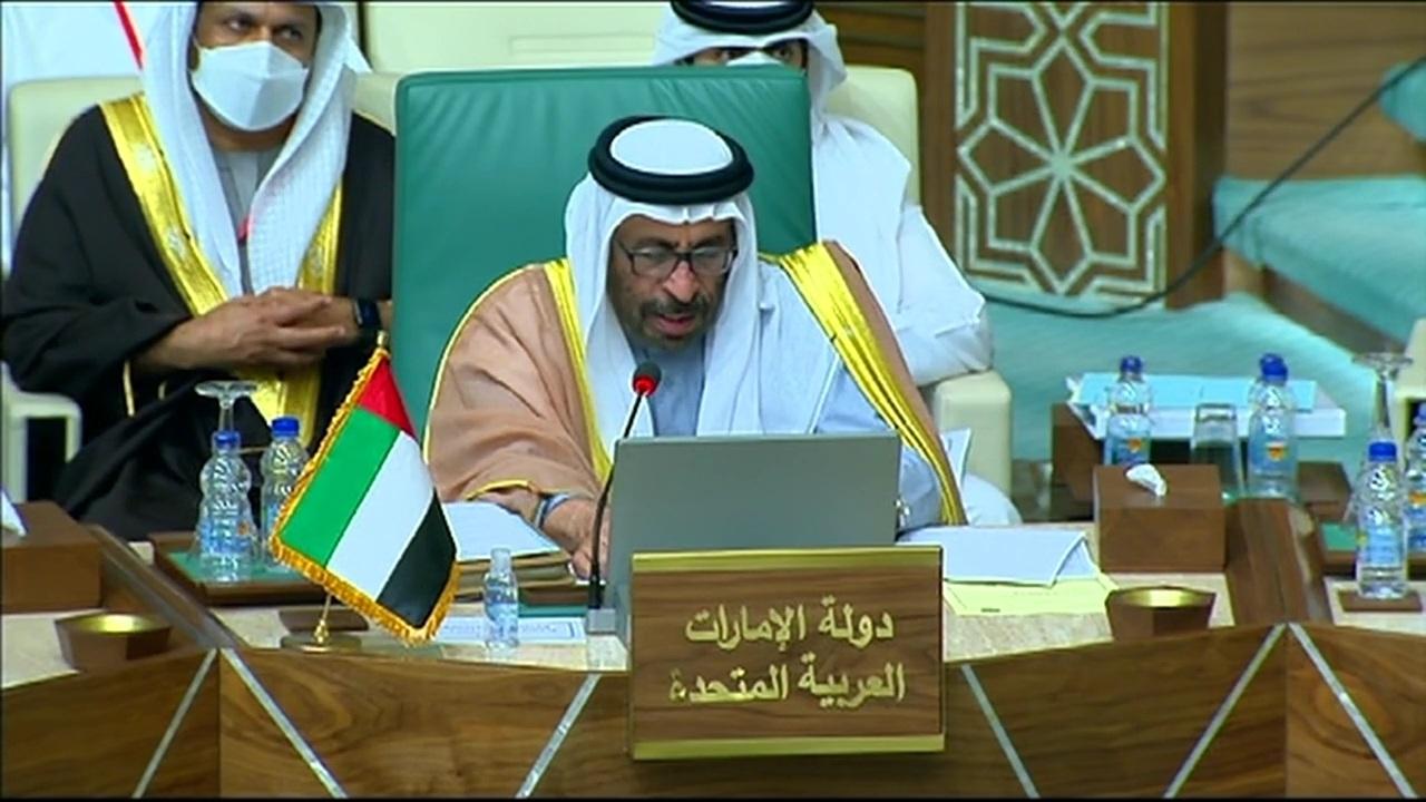 مصر | وزير الدولة للشؤون الخارجية الإماراتي: التدخلات الخارجية تشكل تهديدا أمام الدول العربية