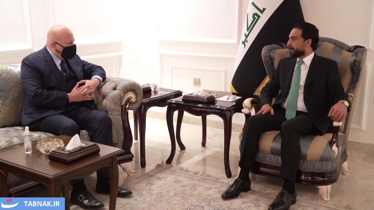 العراق | الحلبوسي يؤكد ضرورة تعزيز المساءلة عن الجرائم المرتكبة من قبل داعش الإرهابي