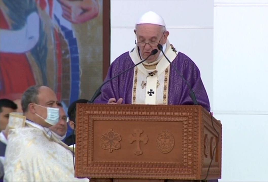 العراق | بابا الفاتيكان من أربيل: كثيرون في العراق يحملون جراح العنف