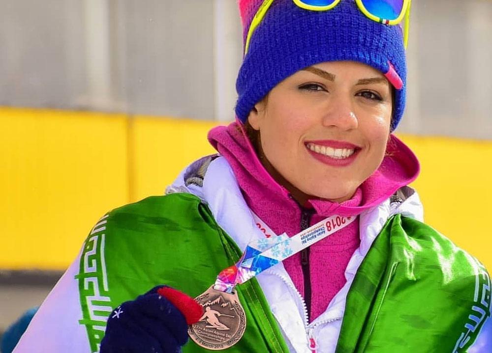 پیام خداحافظی دردناک کاپیتان تیم ملی اسکی زنان