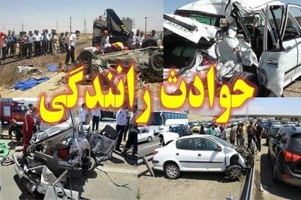 ۷ مصدوم و ۲ فوتی در۲ سانحه رانندگی در خوزستان