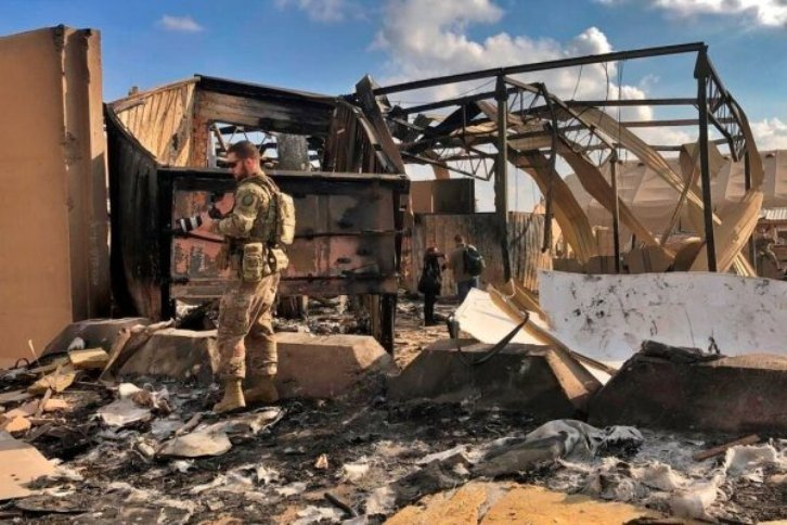 شنیدهشدن صدای انفجار در اطراف پایگاه عین الاسد عراق