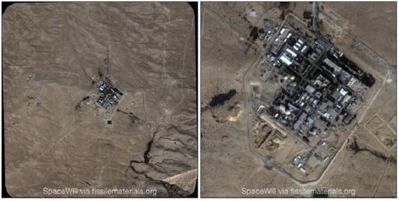 تصاویر ماهوارهای اقدامات هستهای اسرائیل را فاش کرد