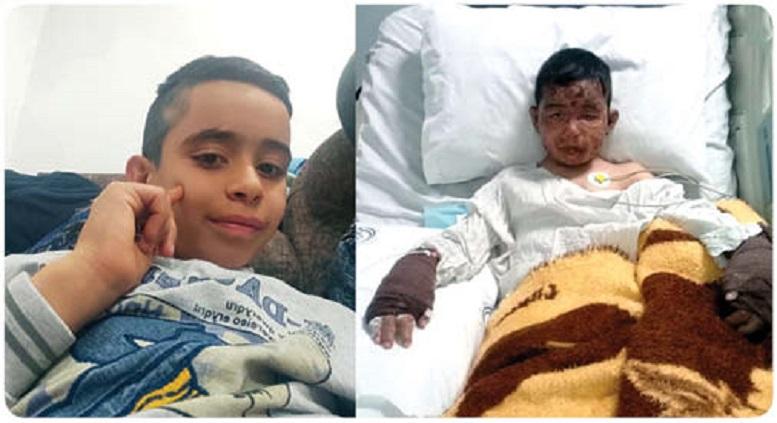 پسر ۸ ساله شیرازی، ۴ کودک را ازمیان آتش نجات داد