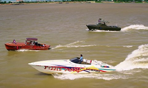 قایقرانی در حد فاصل کامبوج تا ویتنام