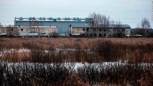 محل زندان مخالف سرشناس پوتین