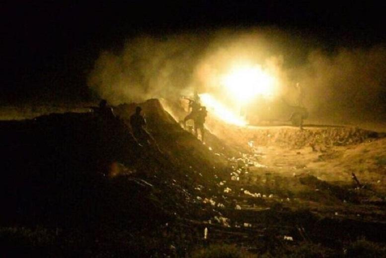 درگیری سنگین الحشد الشعبی و عناصر داعش در بغداد