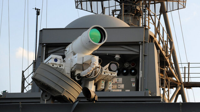 ارتش آمریکا در حال ساخت یک سلاح لیزری قدرتمند