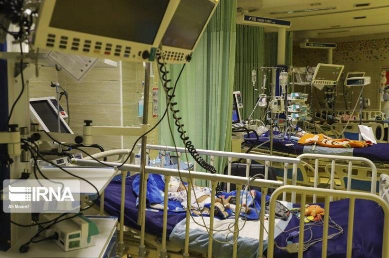 بستری شدن ۱۲ کودک مبتلا به کرونا در بیمارستان اهواز