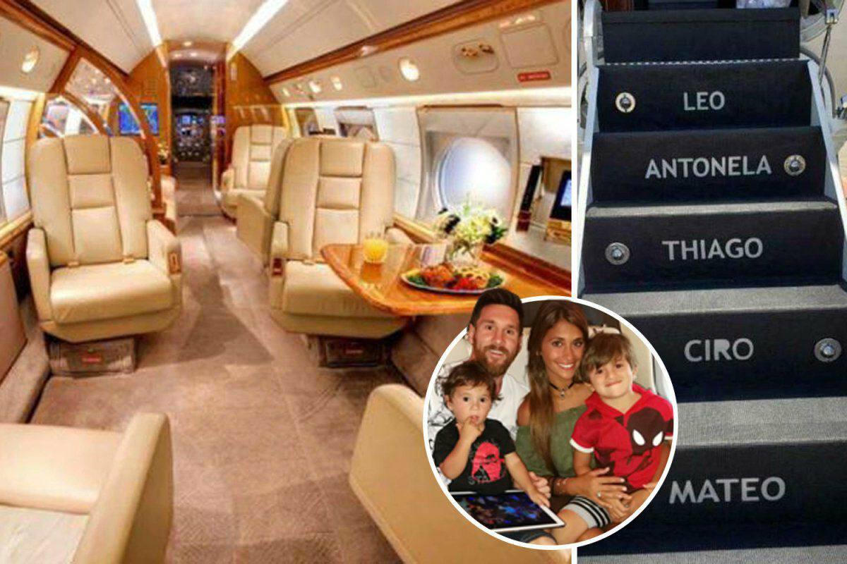 داخل هواپیمای مسی که رئیسجمهور آرژانتین کرایهاش کرد