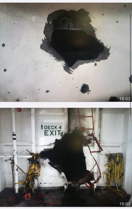 انفجار در کشتی اسرائیلی در دریای عمان