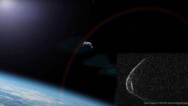 سیارک جنجالی از کنار زمین بیخطر گذشت