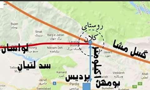 گسل مشا و گسل ری خطرناکترین گسلهای تهران