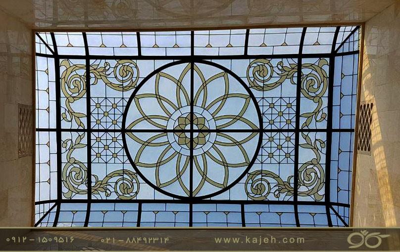 گنبد شیشه ای بازار بزرگ تهران