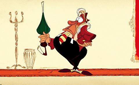 انیمیشن کوتاه بازرس و چتر