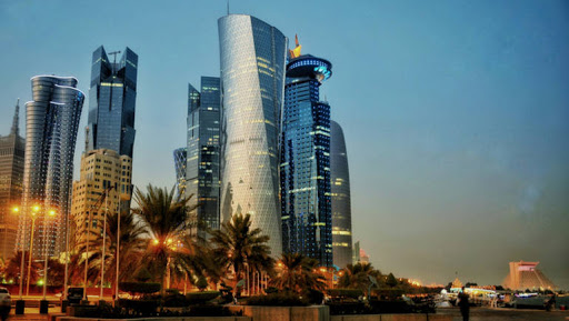 ورزشگاهی در قطر شبیه به ارگ کریمخان شیراز