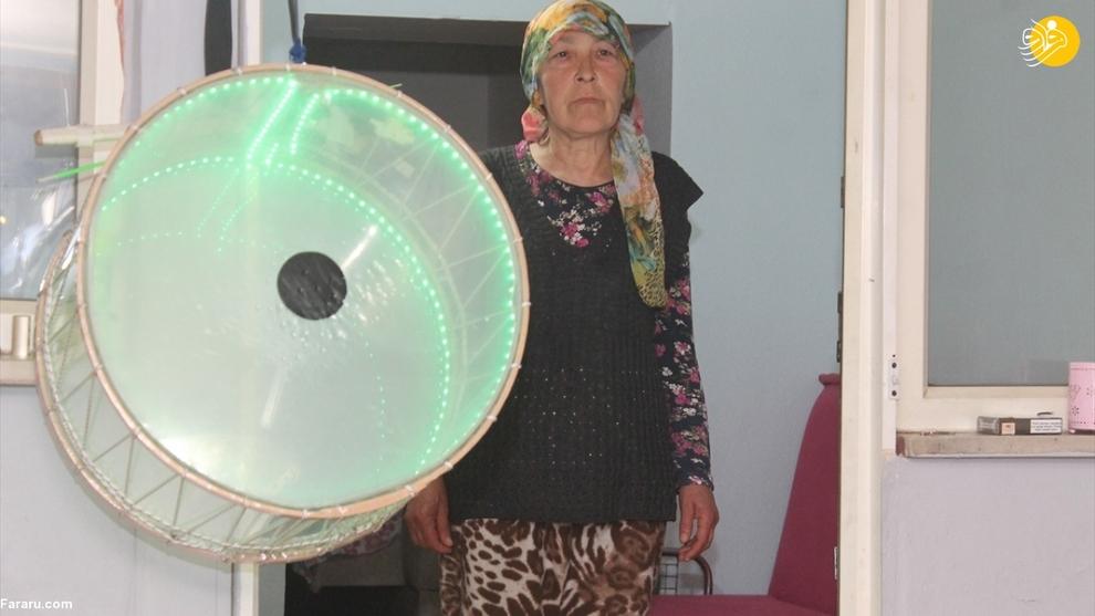 اقدام جالب زن ترکیه ای در ماه رمضان