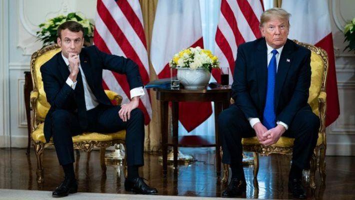 توافق مکرون و ترامپ برای رفع تنش در لیبی