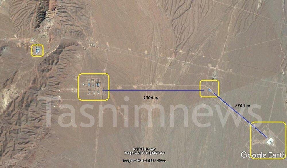 تصویر ماهوارهای از مرکز فضایی سپاه