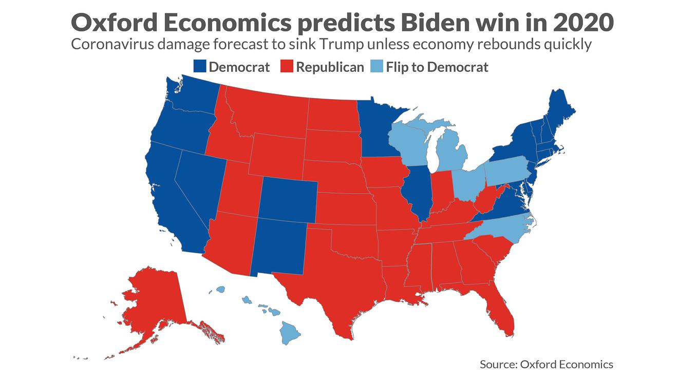 ترامپ در انتخابات 2020 شکست تاریخی خواهد خورد/ جو بایدن پیروز انتخابات خواهد بود