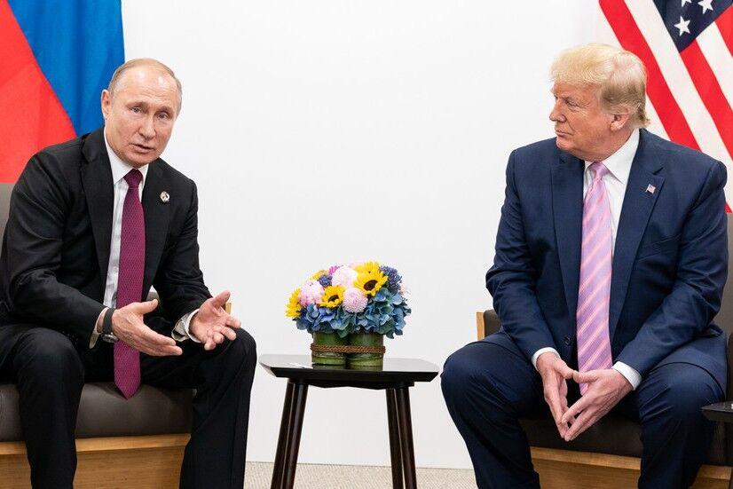 پوتین به ترامپ تبریک گفت