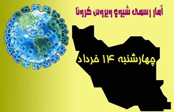 آخرین آمار کرونا در ایران تا چهاردهم خرداد/ هفتاد تن دیگر جان باختند / شمار جان باختگان از ۸ هزار و بهبودیافتگان از ۱۲۵ هزار تن گذشت